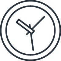 time icon signifying the importance of saved time