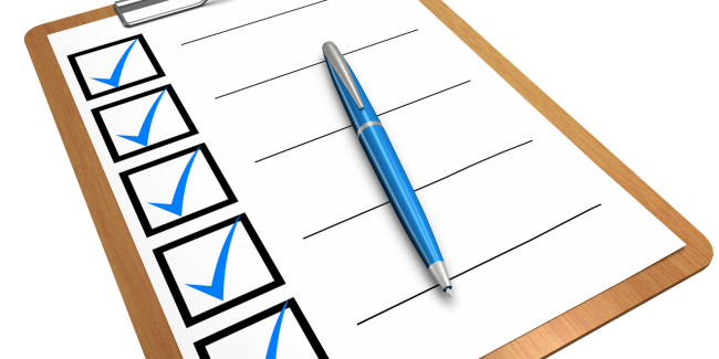 checklist by 472301 on pixabay | HomeVault